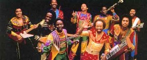 Earth wind and fire concert in Thailand